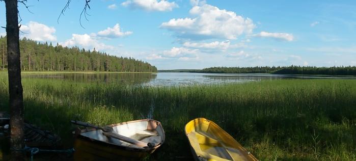 lac Karjala Finlande